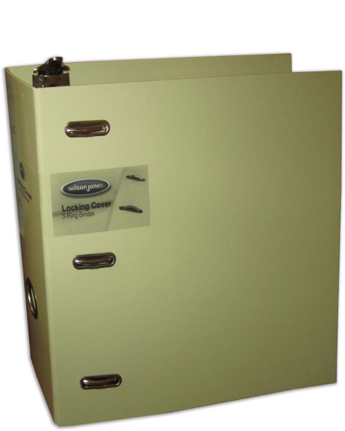 "Wilson Jones Line Heavy-Duty Locking Round-Ring 3"" Binder 8.5 x 11"" Sheet Capacity - Assorted Colors (W37033)"