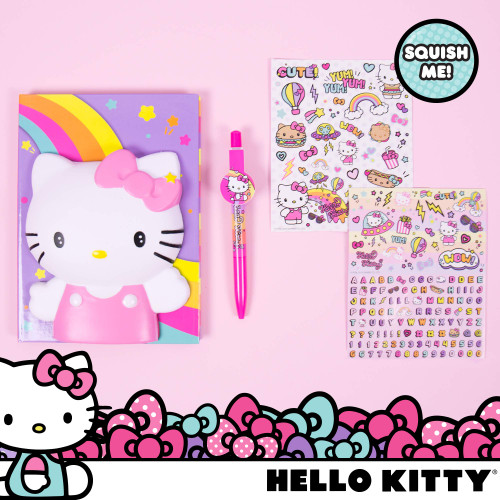 Hello Kitty Create Your Own Squishy Diary by Horizon Group USA