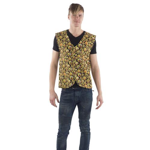 Emoji Vest - Adult Large/X-Large