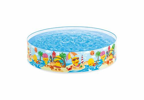 "Intex 58477EP Duckling Snapset Pool 4' x 10"""