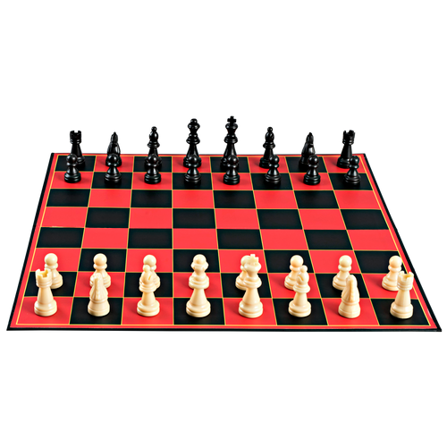 Point Games Classic Chess Board Game, Super Durable Board, Best Folding Board Game for the Entire Family - Beginners Chess