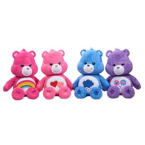"Care Bears Jumbo 21"" Plush Love-a-Lot, Pink"