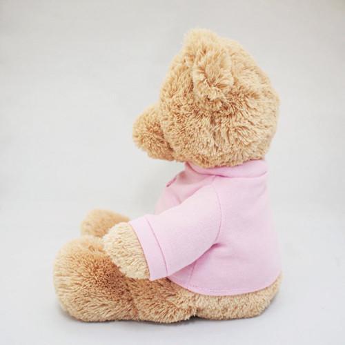 "GUND It's a Girl T-Shirt Teddy Bear Stuffed Animal Plush in Pink, 12"""