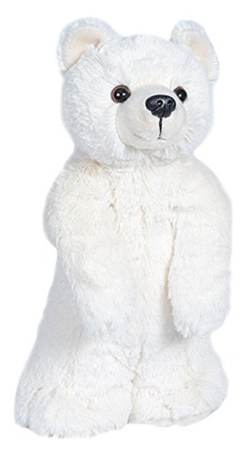 Wild Republic Polar Bear Plush, Stuffed Animal, Plush Toy, Gifts for Kids, Standing Buddies 13 Inches