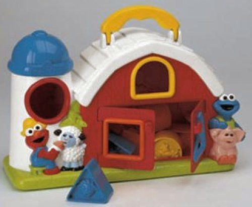 Sesame Street Fisher-Price Barnyard Shape Sorter