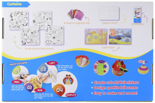 Foil Art Sticker Activity Set