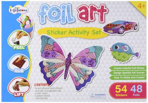 Foil Art Sticker Activity Set