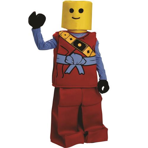 Red Toy Block Ninja
