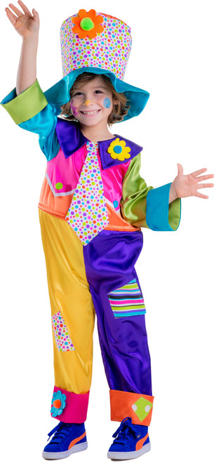 Children's Circus Clown Costume By Dress America