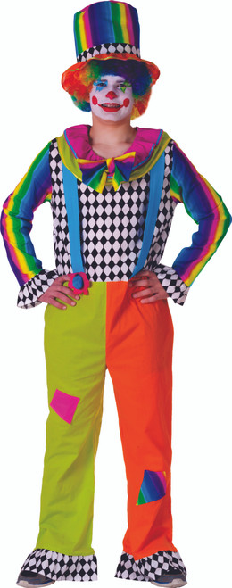Adult Jolly Clown costume for men