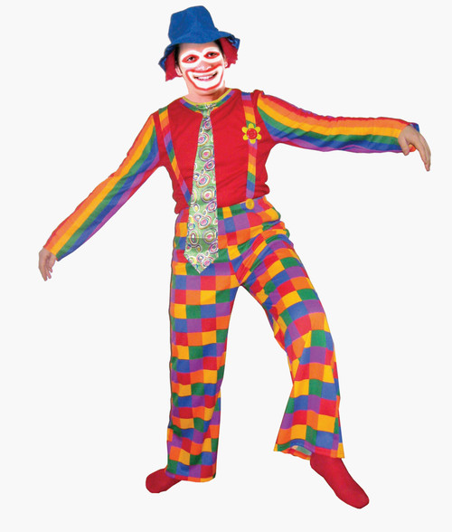 Jolly Laughing Clown Costume By Dress Up America