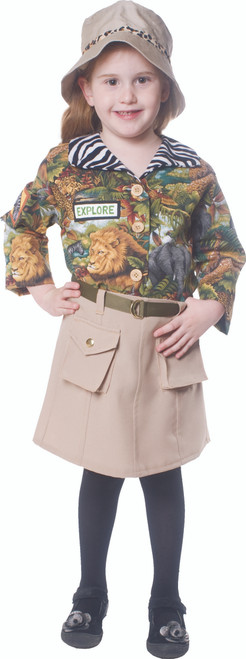 Cute Safari Girl Costume By Dress Up America