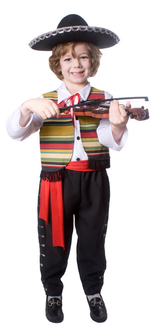 Mexican Mariachi Kids Costume By Dress Up America