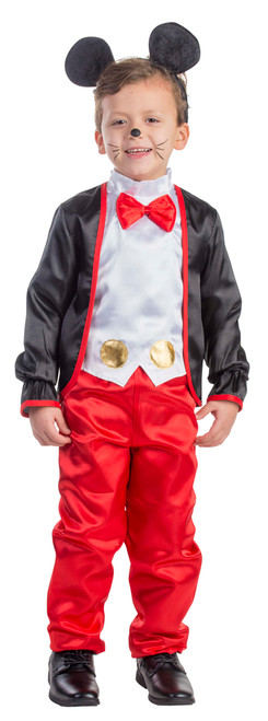 Kids Charming Mr Mouse Costume by Dress Up America