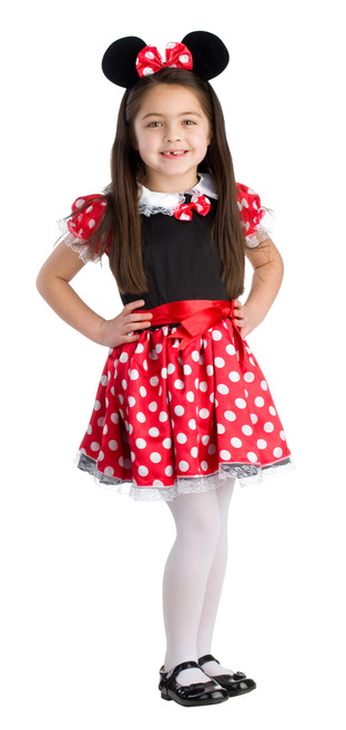 Kids Charming Miss Mouse Costume by Dress Up America