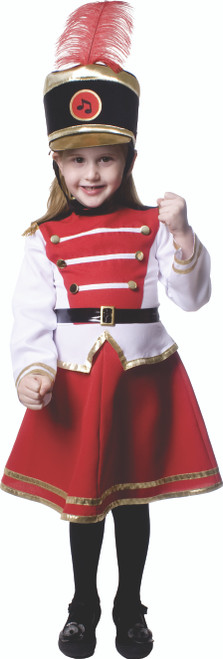 Drum Majorette Costume For Girls By Dress Up America