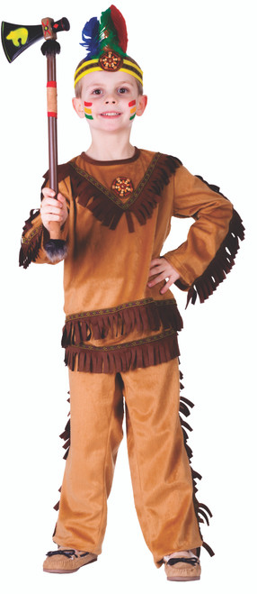 Indian Warrior Boy Costume by Dress Up America