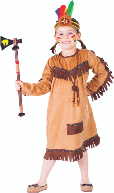 Brave Indian Girl Costume by Dress Up America