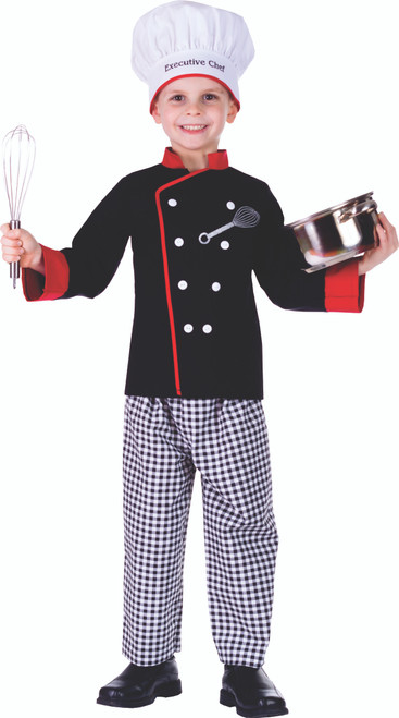 Executive Boy Chef Costume By Dress Up America