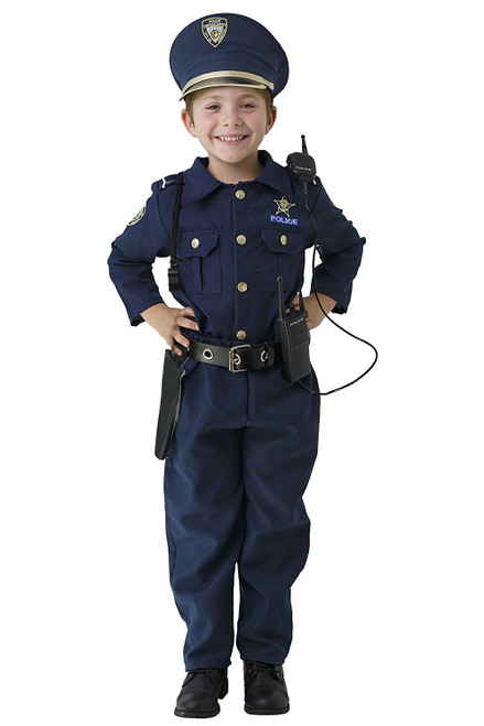 Award Winning Deluxe Police Dress Up Costume Set