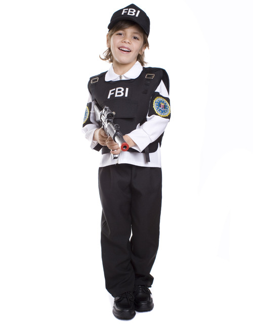 FBI Agent Child Costume By Dress Up America