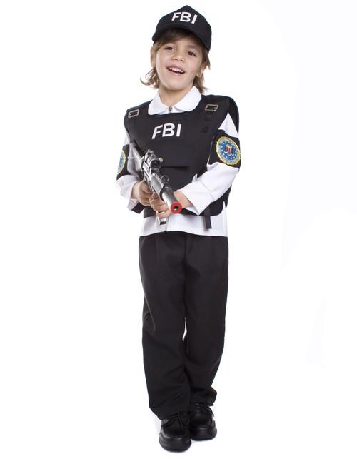 FBI Agent Child Costume By Dress Up America