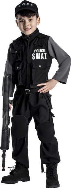 Kid's Jr. SWAT Team Costume by Dress Up America