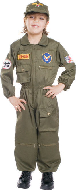 Kids Air Force Pilot Costume By Dress Up America
