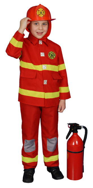 Boy Fire Fighter - Red