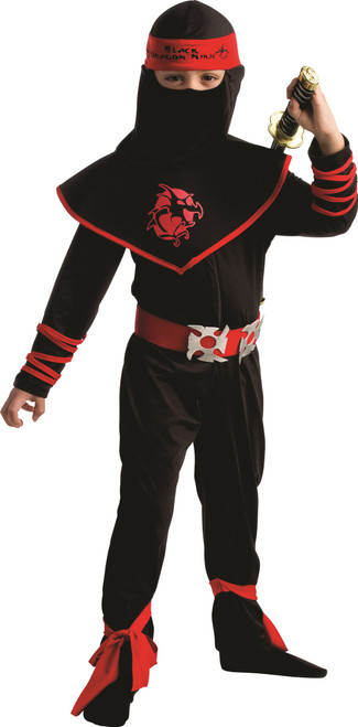 Kids Ninja Warrior Costume By Dress Up America