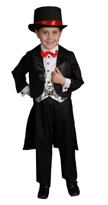Black Tuxedo Kids Costume By Dress Up America
