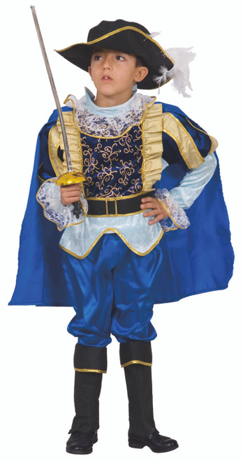 Blue Noble Knight Children's Costume By Dress Up America