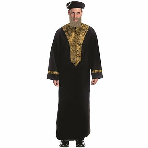 Adult Sephardic Chacham Rabbi Costume By Dress Up America