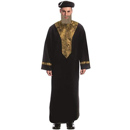 Adult Sephardic Chacham Rabbi Costume By Dress Up America