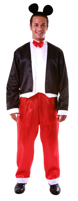 Adult Funny Mr. Mouse Costume By Dress Up America