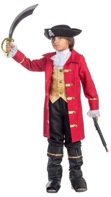 Boys Elite Pirate Captain Costume