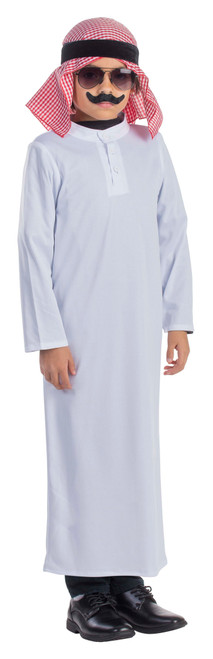 Arabian Sheik Costume for Kids by Dress Up America