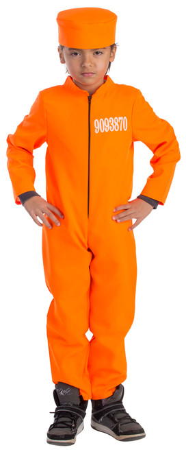 Kid's Prisoner Costume by Dress Up America