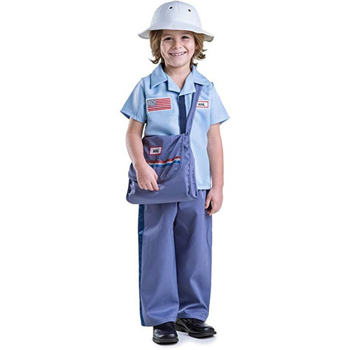 Mail Carrier Costume Set for Boys By Dress Up America