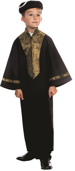Sephardic Chacham Rabbi Costume for Kids