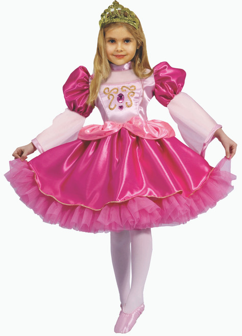 Little Girl Graceful Ballerina Costume By Dress Up America