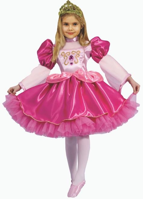 Little Girl Graceful Ballerina Costume By Dress Up America