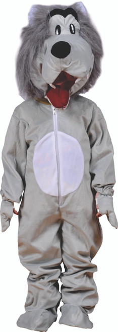 Cute Grey Wolf Costume By Dress Up America