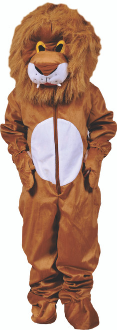 Scary Plush Lion Hairy Head Costume By Dress Up America