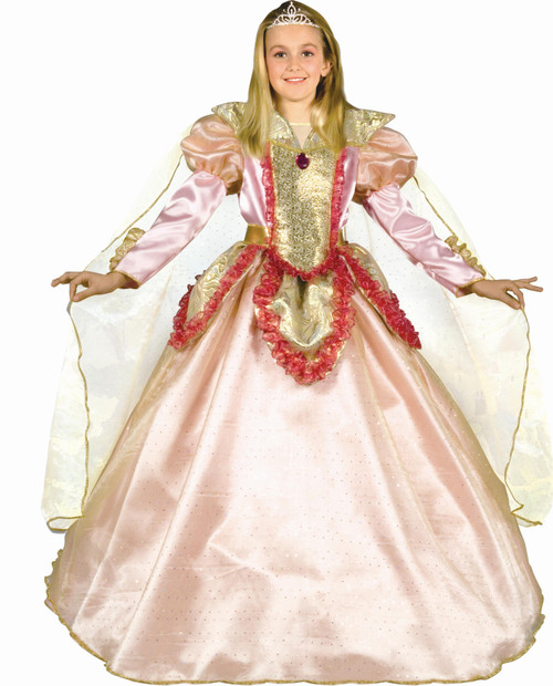 Little Princess of the Castle Costume By Dress Up America