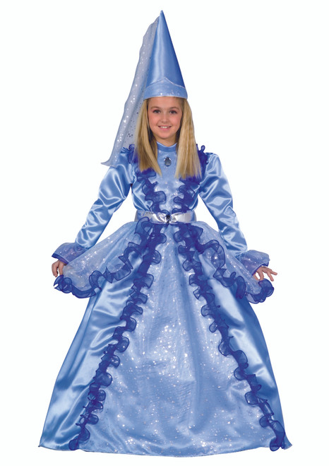 Girl's Blue Fairy Costume By Dress Up America