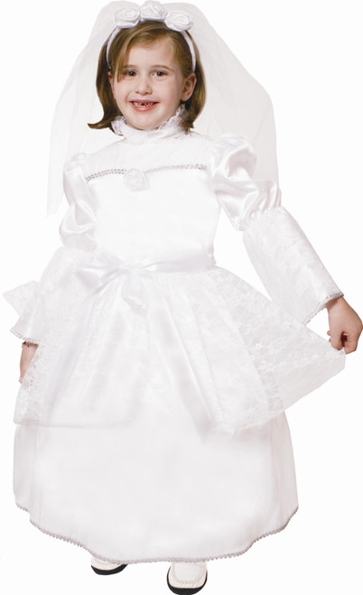 Majestic Bride Children's Costume By Dress Up America
