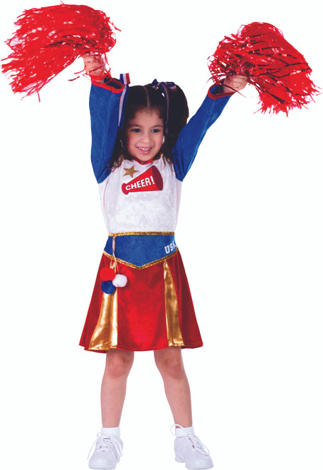 Kids American Cheerleader Costume by Dress Up America