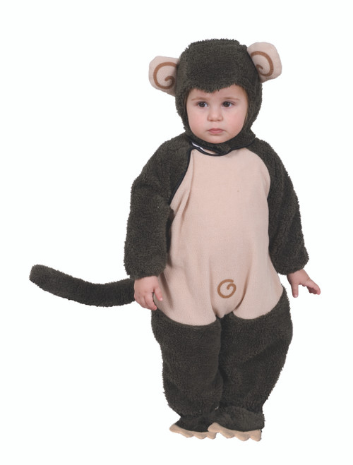 Cute Plush Lil' Monkey Costume By Dress Up America