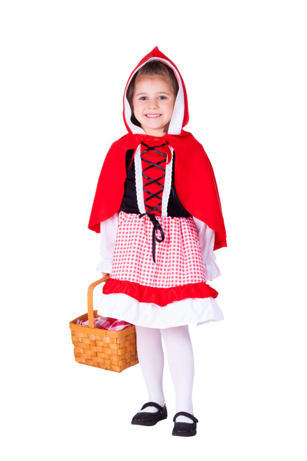 Kids Lil' Red Riding Hood Costume By Dress Up America
